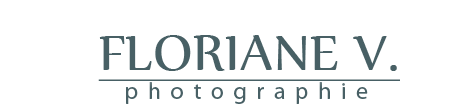 Floriane V. Photographe dijon logo